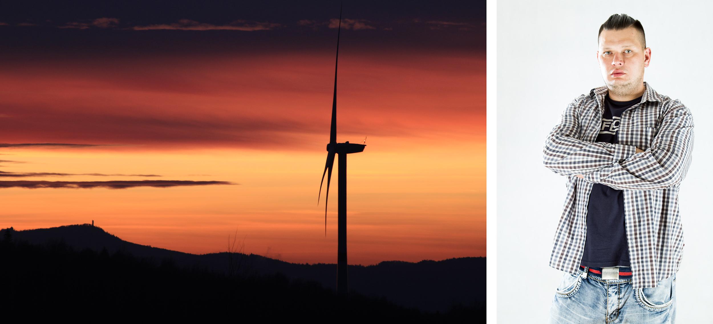 wiatrak kolaż_konkurs fotograficzny najpiękniejsze w energetyce